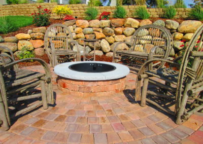 Anderson Landscaping Fire Features